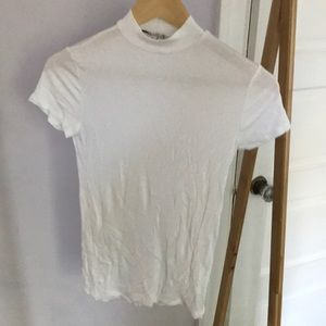 Express One Eleven mock neck tee